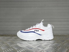 кроссовки женские FILA Ray Low Heritage White / Navy / Red