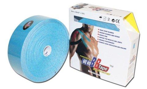 BBtape кинезио тейп 5см х 32 м (синий)