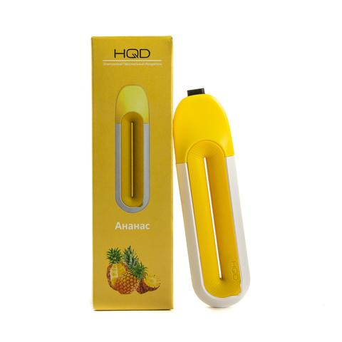 Одноразовая электронная сигарета HQD STARK Pineapple (Ананас) 1 шт