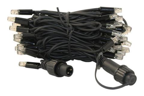 Гирлянда 10 метров нить на ПВХ проводе string light led