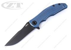 Нож Zero Tolerance 0609BLUBLK RJ Martin