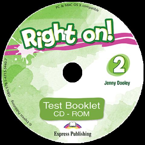 Right on! 2. Test booklet CD-ROM. Сборник тестовых заданий CD-ROM