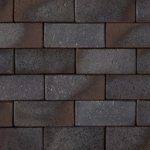 ABC Wismar blau-braun-bunt, 200x100x52 - Тротуарная клинкерная брусчатка