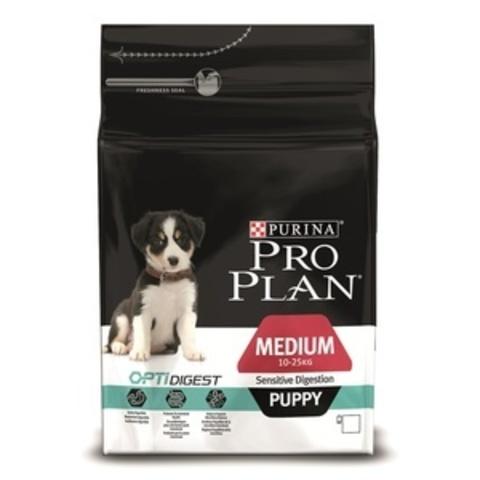 Puppy Medium Sensitive Digestion - для щенков с чувствительным пищеварением с ягненком