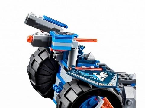 LEGO Nexo Knights: Устрашающий разрушитель Клэя 70315 — Clay's Rumble Blade — Лего Нексо Найтс Рыцари