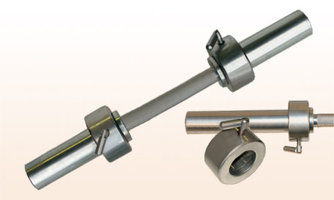Гантельный гриф Barbell d 50 мм металл/ручка з/стопорный L710 мм