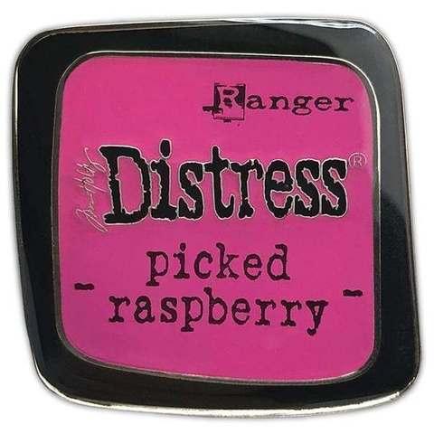 Декоративные значки с эмалью Tim Holtz Distress Enamel Collector Pin Set -розовый