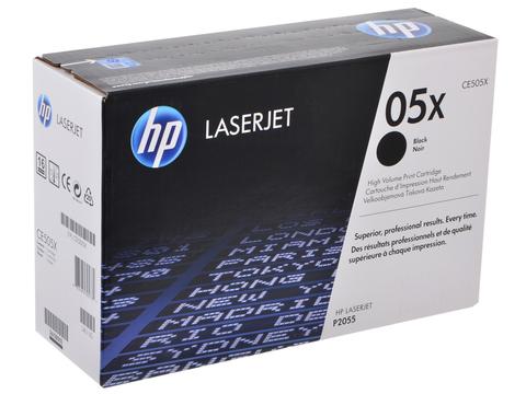 CE505X Картридж для принтера HP LASERJET, P2053d, P2053dn, P2053x, P2054d, P2054dn, P2054x, P2055, P2055d, P2055dn, P2055x, черный, оригинальный, лазерный