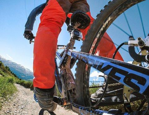 Handlebar / Seatpost / Pole Mount - Крепление на тонкую трубу (от 1.95см до 3.55см) GRH30