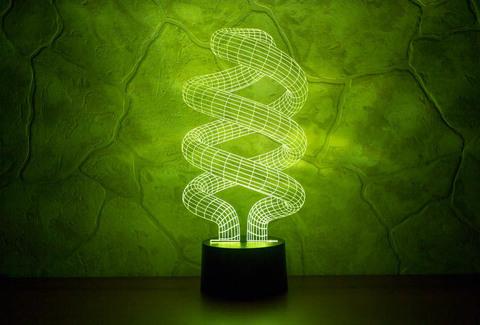 Лампа Спираль