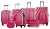 Чемодан с расширением L'case Bangkok-26 Розовый (L)