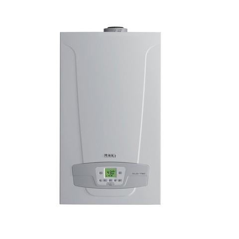 Котел газовый конденсационный BAXI LUNA Duo-tec 40 (двухконтурный, закрытая камера сгорания)