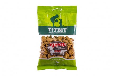 Titbit крекер с мясом утки 100г