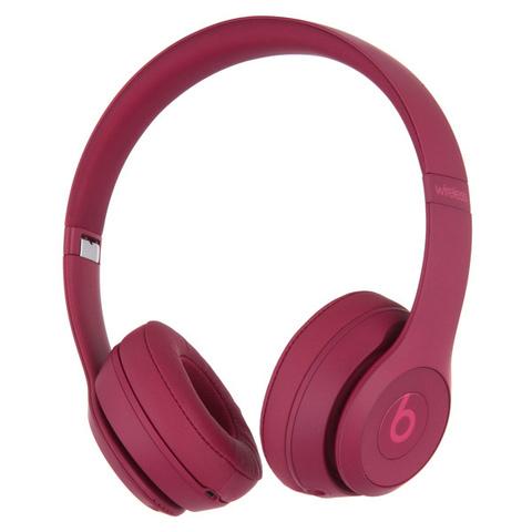 Beats Solo3 Wireless Neighborhood Brick Red