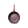 4334 FISSMAN Magic Brown Сковорода ВОК 24 см,