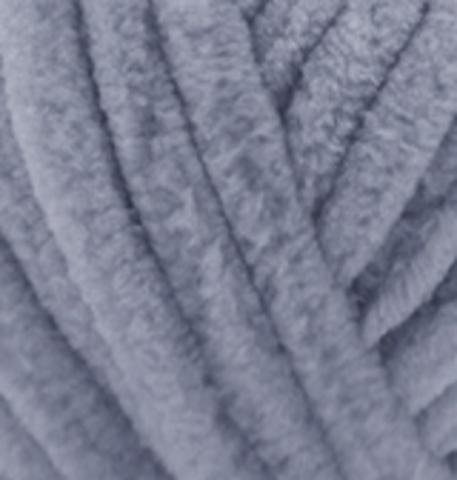 Velluto Alize 87 угольно-серый