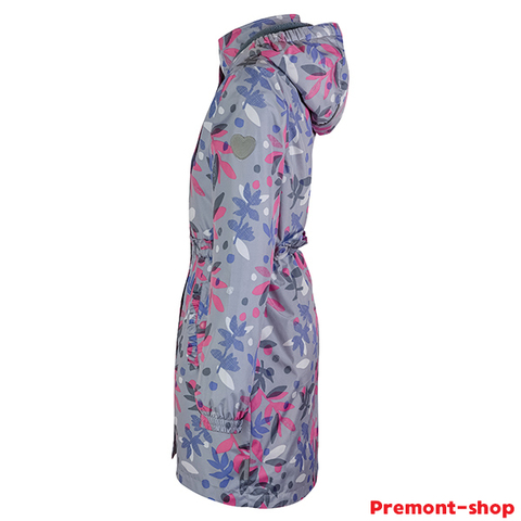 Плащ Premont для девочек Райдинг-Маунтин SP71630 Grey