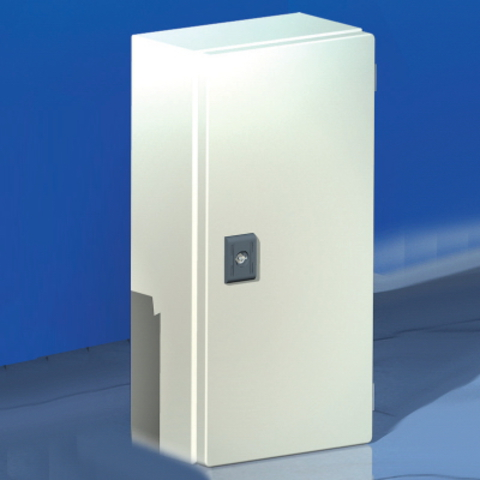 Сварной металлический корпус CDE, 200х200х80 мм, с дверцей,IP55