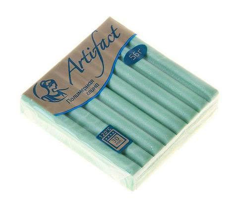 Пластика Artifact (Артефакт) брус 56 гр. зеленый перламутр
