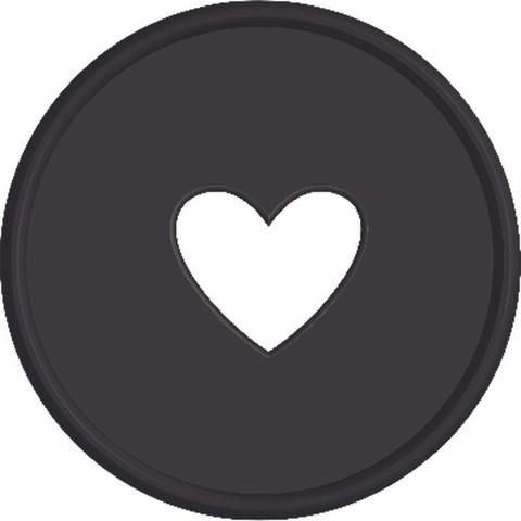 Диски- крепежный механизм для ежедневника Create 365 Planner Expander Rings - Black  - 4.3 см