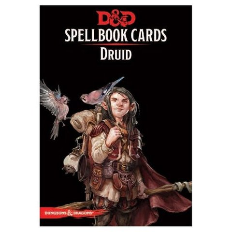 D&D Spellbook Cards:Druid Deck (131 Cards)