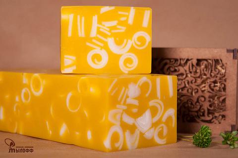Глицериновое мыло ручной работы Жизель парфюмированное (аналог аромата Dior J`adore) внарезку 100 г ТМ Мылофф
