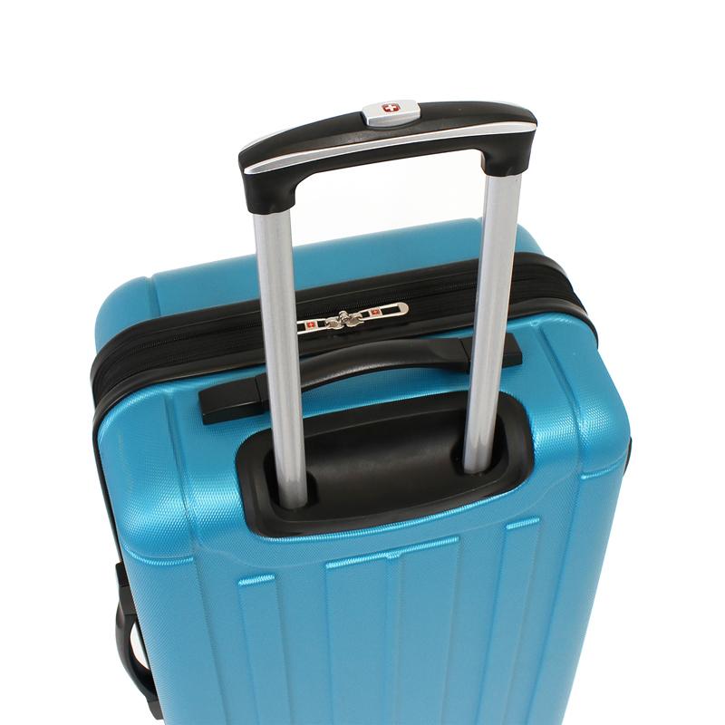 Чемодан WENGER USTER, цвет голубой, 41x26x58 см, 62 л (WGR6297343167)