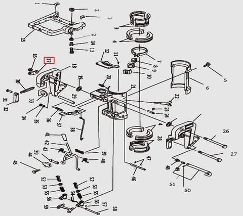 Скоба для лодочного мотора T9.8 Sea-PRO (11-17)