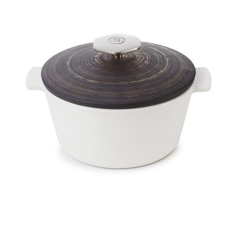 Фарфоровая кокотница Cuivre для газовой плиты, графит/медь , артикул 653397, серия Revolution 2