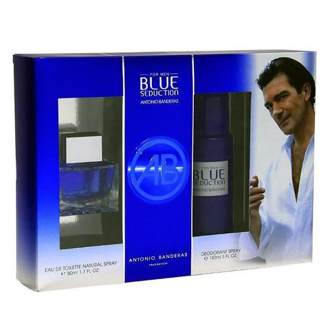 Antonio Banderas Blue Seduction for Men Set (Edt 50 ml + Deo 150 ml)