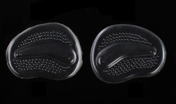 Силиконовые пелоты в туфли с подушечкой под пальцы, 1 пара