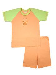 Пижама для девочки, короткий рукав