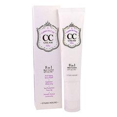 Etude House CC Cream Correct & Care Silky #1Silky - СС-крем корректирующий для шелковистости кожи
