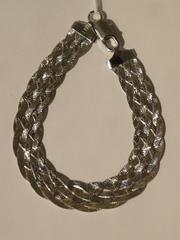 Коса широкая 6 полос(серебряный браслет)