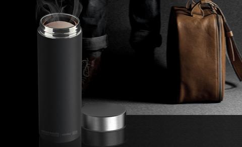 Термос Asobu Le baton (0,5 литра), черный/стальной