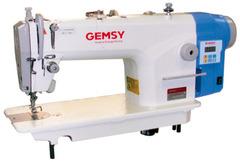 Фото: Одноигольная прямострочная швейная машина Gemsy GEM 8801 E-B