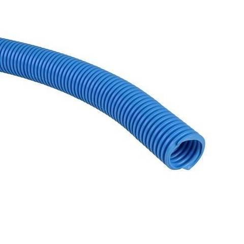 Труба гофрированная STOUT - 25 (наружный диаметр 32 мм, цвет синий, бухта 50м.)