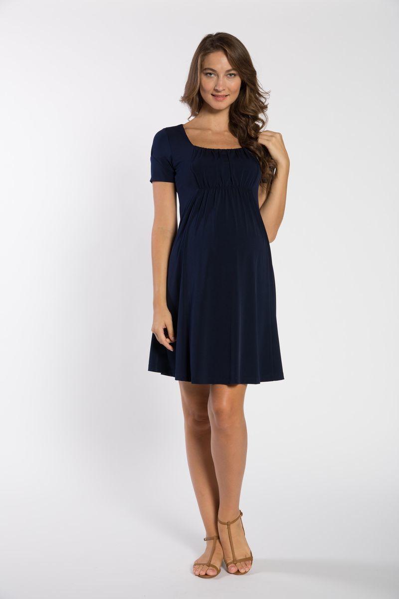 Фото платье для беременных GEBE от магазина СкороМама, синий, размеры.
