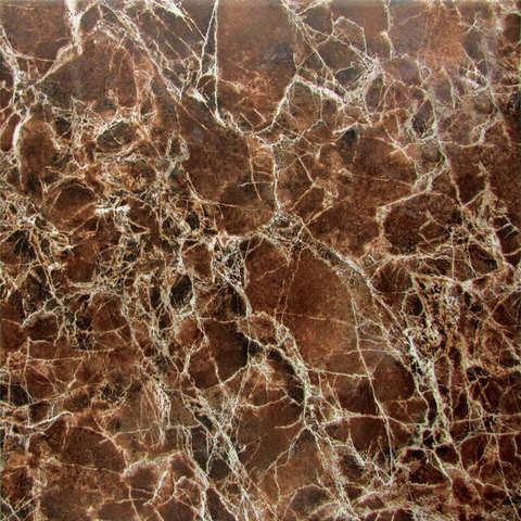 Плитка напольная Империал 723762 коричневый 330х330