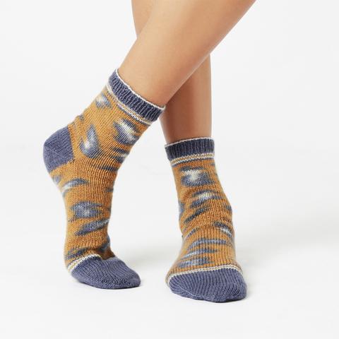 Kinda Magic Sock by Regia and Wool and the Gang