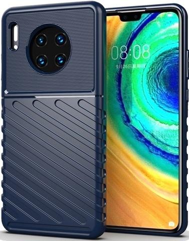 Чехол Huawei Mate 30 цвет Blue (синий), серия Onyx, Caseport