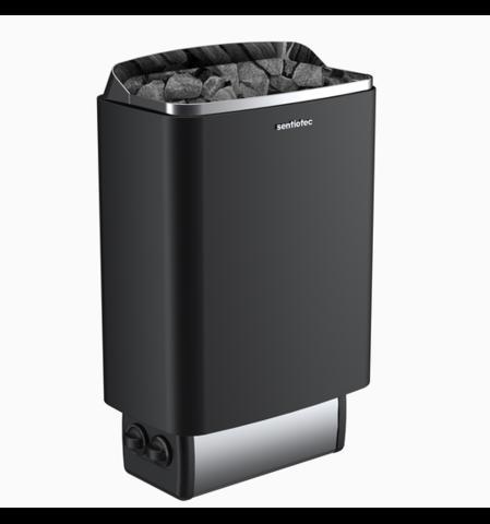 SENTIOTEC Электрическая печь 100 series, black, 8 кВт