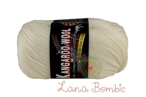 Пряжа Color City Kangaroo Wool белый 2001