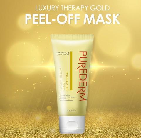 Маска пленка для лица с биозолотом PUREDERM Peel Off Mask 100g
