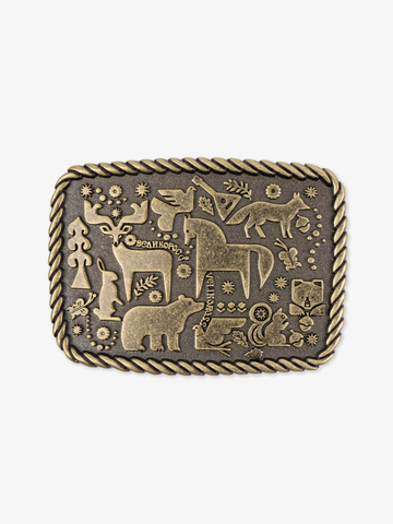Forest fairytale buckle color old bronze