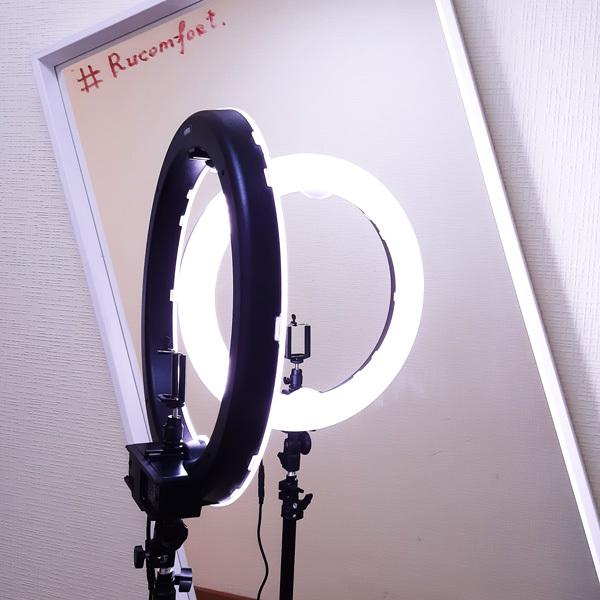 Кольцевая лампа LED RING 240 Battery фото