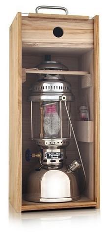 Кейс деревянный для керосиновой лампы Petromax HK350/500