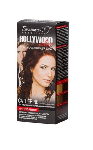 Белита-М Hollywood Color Крем-краска 382 Кэтрин (темный шоколадно-корич.)
