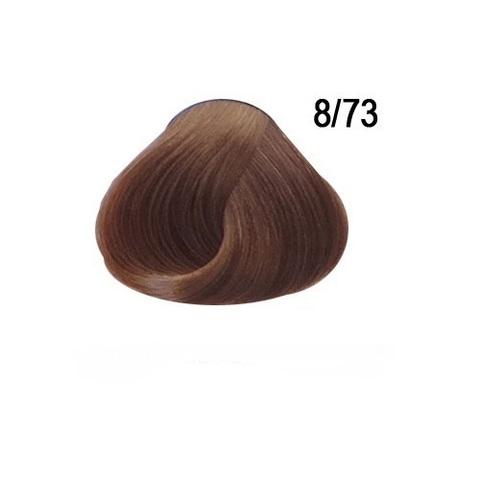 Перманентная крем краска для волос Ollin 8/73 светло русый коричнево золотистый