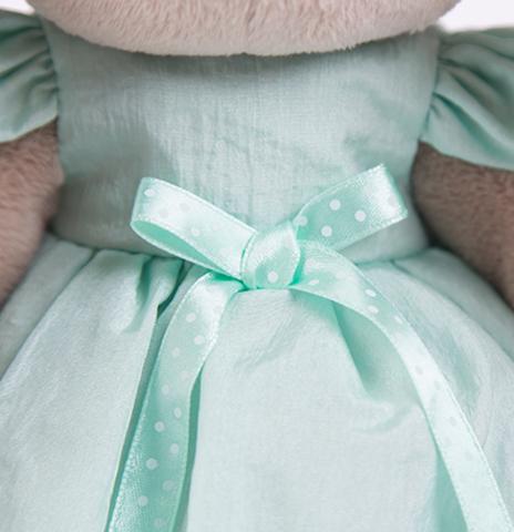 Зайка Ми в мятном платье со стрекозой (большая)